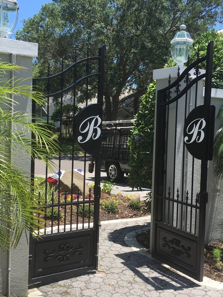 Custom Walk Gates Look Great!