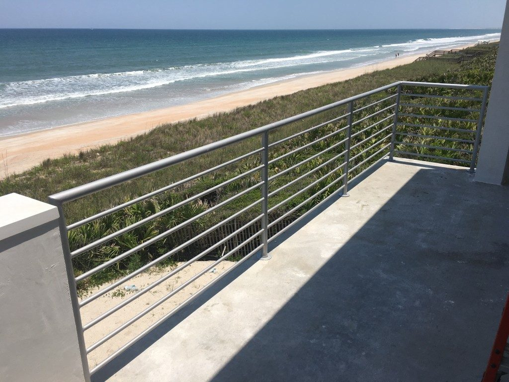 Modern Beach House Rails